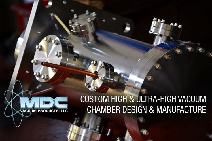 MDC is equipped to build custom high and ultra-high vacuum chambers of virtually any complexity. Vacuum chambers can be built to your exact specifications from a rough hand-sketch, detailed engineering drawings or anything in-between. MDC's engineering department uses the latest SolidWorks 3D CAD software and can accept drawings in DWG, DXF, IGES, STP or SolidWorks file formats. Let us know how we can drive your process forward with a custom built vacuum chamber…