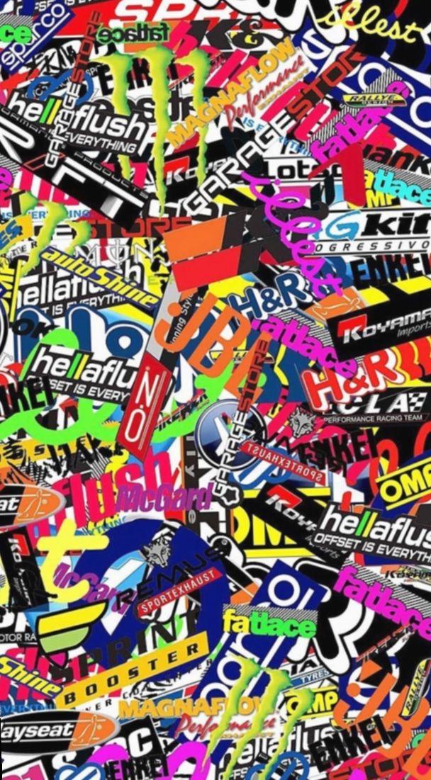 11 Anime Fondos De Bloqueo Naruto Sticker Bomb Wallpaper Sticker Bomb Graffiti Wallpaper