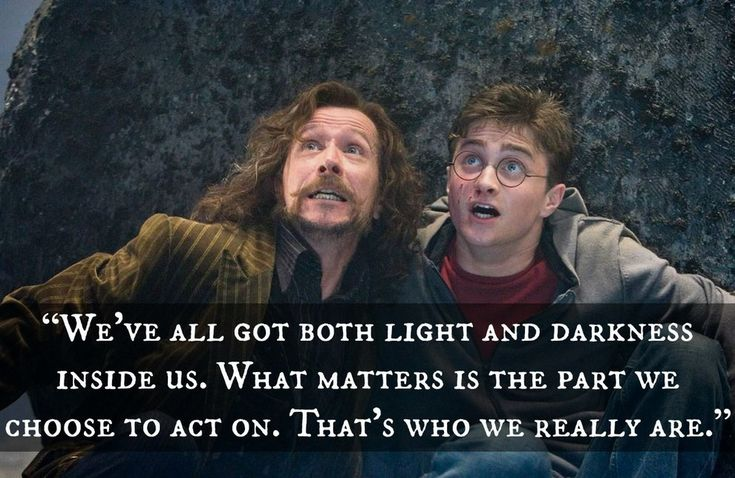 """If """"Harry Potter"""" Quotes Were Motivational Posters"""