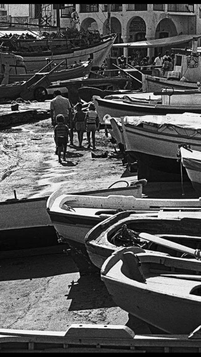 #Mykonos #waterfront in 1974, By D.Koutsoukos