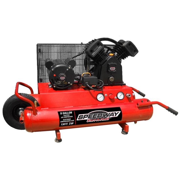Speedway 2HP Electric Wheelbarrow Air Compressor