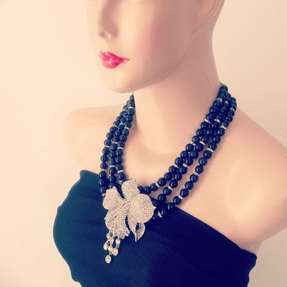 Bali Necklace for Mother of The Bride by GraceSabarus on Etsy, $129.00