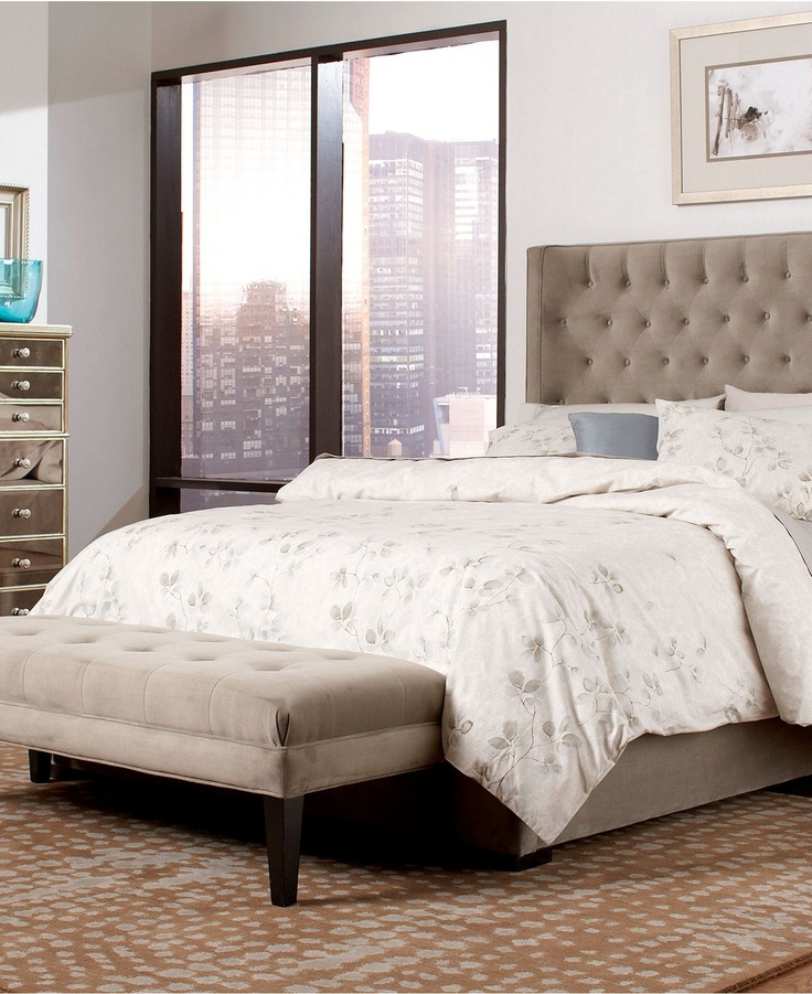 Wysteria upholstered bedroom furniture collection created for macyu0027s   photo 1 of 7 macys  Comfortable Bed Linens By Macys Bedroom Furniture With Upholstered  . Paula Deen Bedroom Furniture Macy S. Home Design Ideas