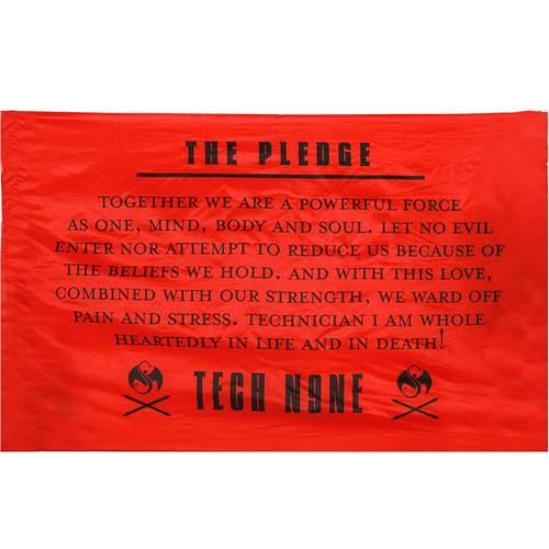 Tech N9ne - Pledge Flag 3' x 5'