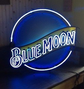 "Who doesn't love the song ""Blue Moon"" or the idea of a ""blue moon"" to hang in the Round Table Area."