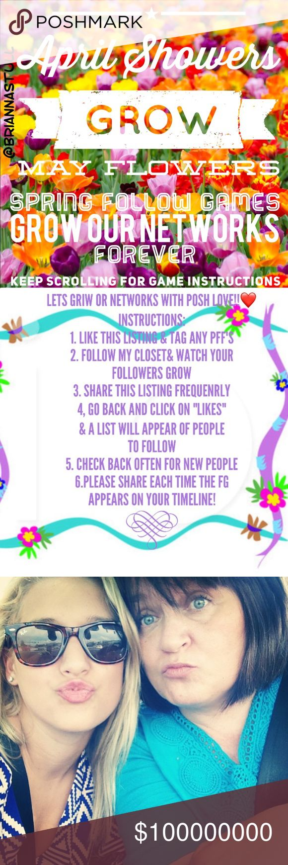 Follow games help us all grow our networks! nwt