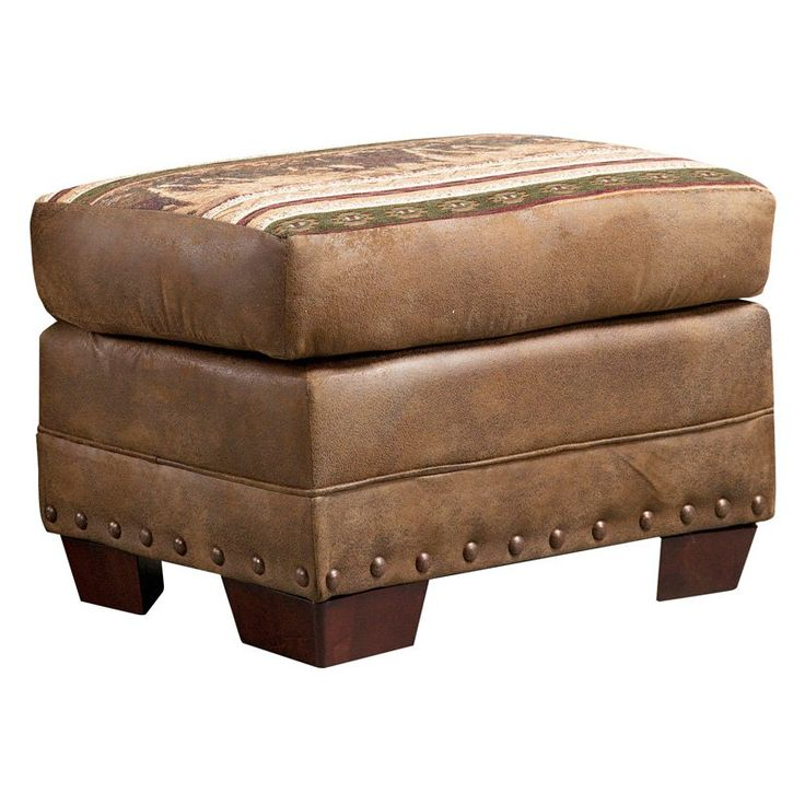 Outdoor Leisure Products Wild Horses Ottoman - 8500-40