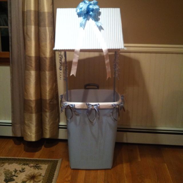Baby Shower Wishing Well Images ~ Baby shower wishing well cute stuff pinterest