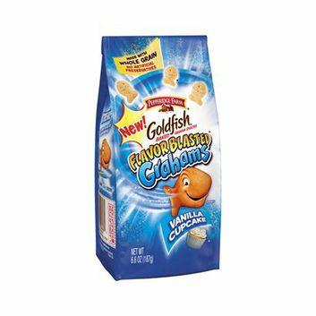 I'm learning all about Pepperidge Farm Goldfish Vanilla Cupcake Grahams Snacks 6.6 oz at @Influenster!