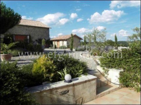 Frankreich Immobilie Dordogne Nontron Landhaus 13,5 ha mit See