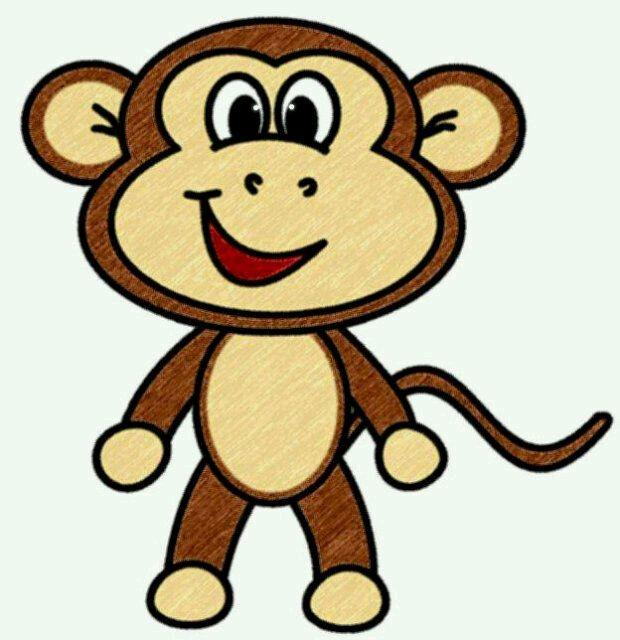 clipart monkey face - photo #29