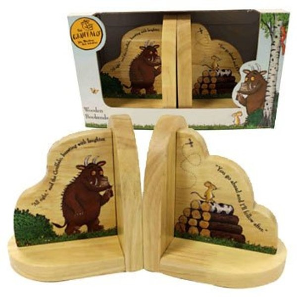 Gruffalo Bookends   Nursery Accessories   The Gruffalo   Gifts For Baby   Toddler Gifts - £23.50