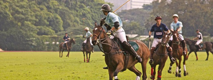 The Singapore Polo game 2011 - Backes & Strauss team in action to win - Discover more on www.backesandstrauss.com