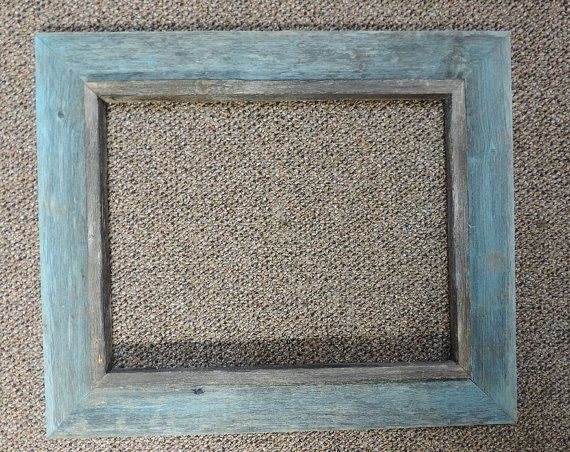 Barn Wood Frame | Picture Frame | Distressed Wood | Made to Order ...