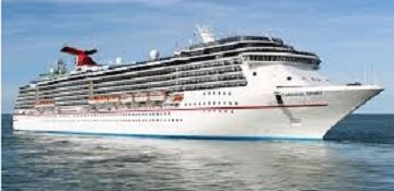 Carnival Cruise Line, Carnival Spirit cruise ship.Track at sea, live, in real time.