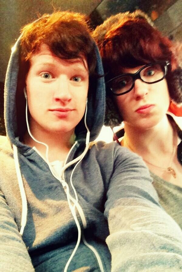 Luke & Bribry ... Haha Bribry looks like his name would be Lucy .. And for luke. ... Well yeah ;-)