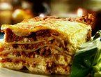 Ina Garten's Turkey Sausage Lasagna. This is the best lasagna I've ever had/made