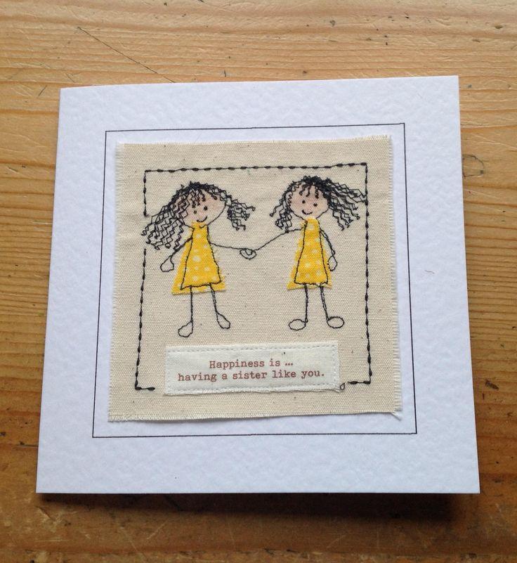 Как сделать открытку сестре от сестры, надписью мое чудо