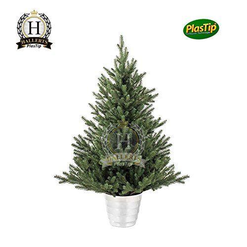 Premium Spritzguss Weihnachtsbaum ca. 90 cm Edeltanne Nobilistanne OXBURGH Edeltanne Kunsttanne Spritzgusstanne Hallerts Plastip