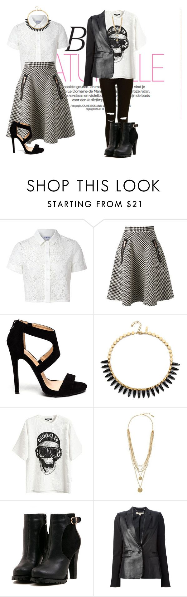 """""""...Good...Bad"""" by maria-alexandra2011 ❤ liked on Polyvore featuring Glamorous, Coast + Weber + Ahaus, Rachel Zoe, Vince Camuto and MICHAEL Michael Kors"""