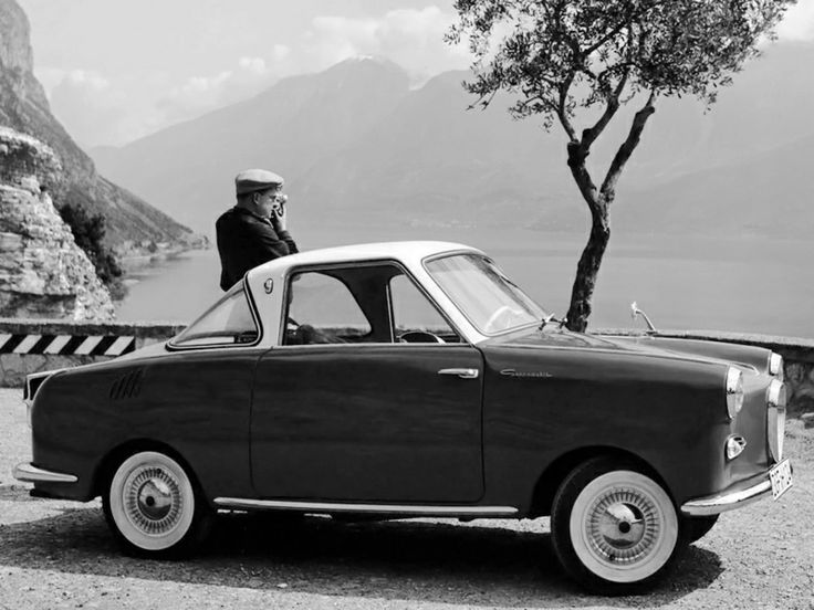 The Soviet Goggomobil TS 400 Coupe Microcar '1957–67.