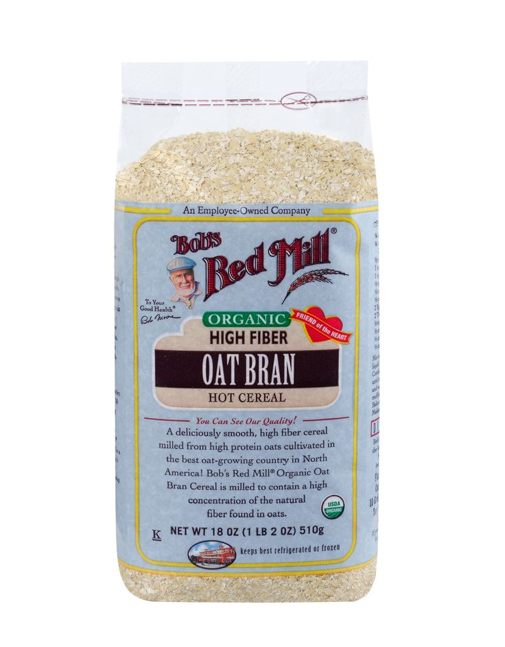Organic Oat Bran Cereal :: Bob's Red Mill Natural Foods