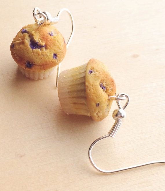 Hey, I found this really awesome Etsy listing at https://www.etsy.com/listing/207020685/blueberry-muffin-polymer-clay-earrings