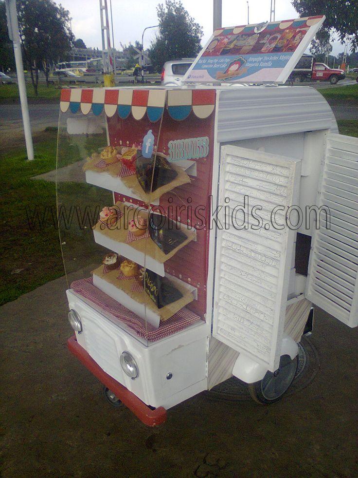 Carro de Cupcakes