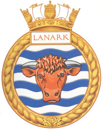 HMCS LANARK Badge - The Canadian Navy - ReadyAyeReady.com