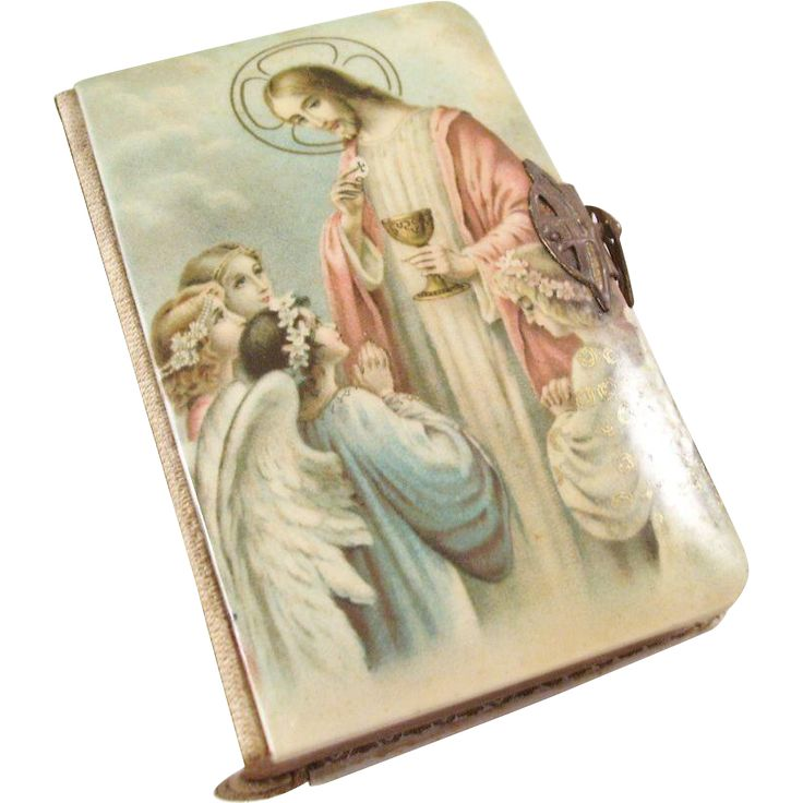 Charming Celluloid Key of Heaven First Communion Catholic Missal - 1925