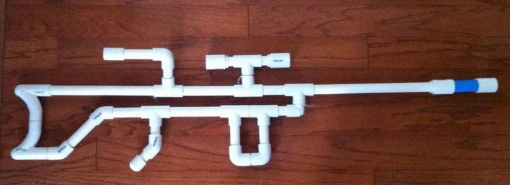 Marshmallow gun (sniper version)