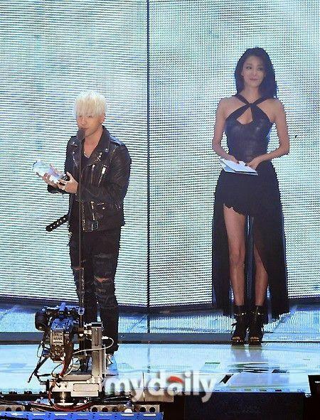 Taeyang @ 2014 Melon Music Awards (141113)