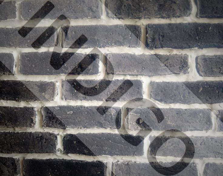 Czarny Cegła Gipsowa Indigo Manufaktura Form