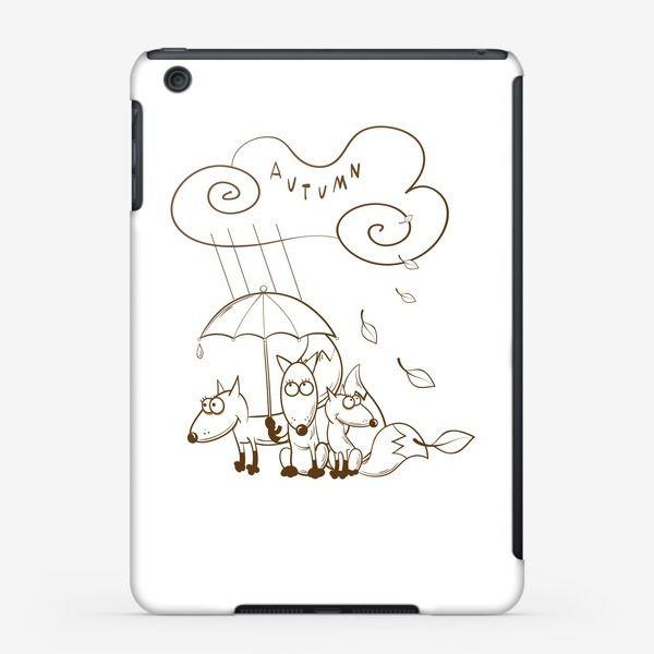 Чехол iPad «Осень.»