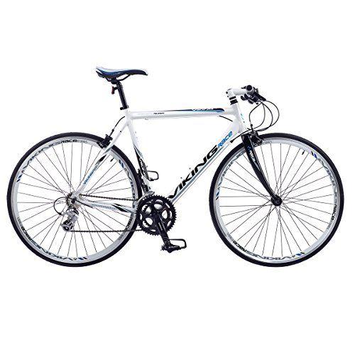 Viking Palermo Mens Flat Bar Road Racing Bike 700c Wheel Alloy