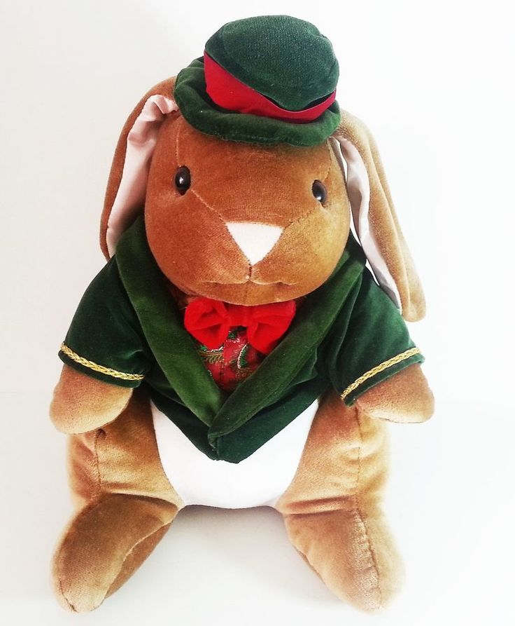 Vtg 1985 Toys R Us The Velveteen Rabbit Boy Plush Bunny by Random House Books #RabbitEarsProductionsRandomHouse