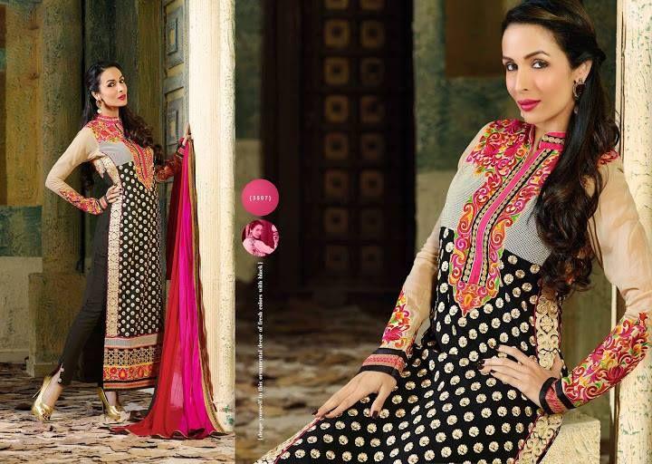 Awesome Bollywood Actress Malaika Arora Khan Lovely Suits (4)