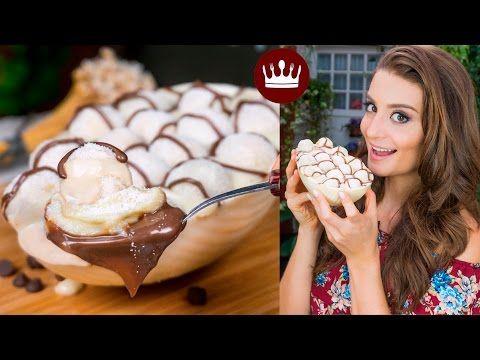 OVO DE COLHER: LEITE NINHO COM NUTELLA   PÁSCOA   Cozinha do Bom Gosto   Gabi Rossi - YouTube