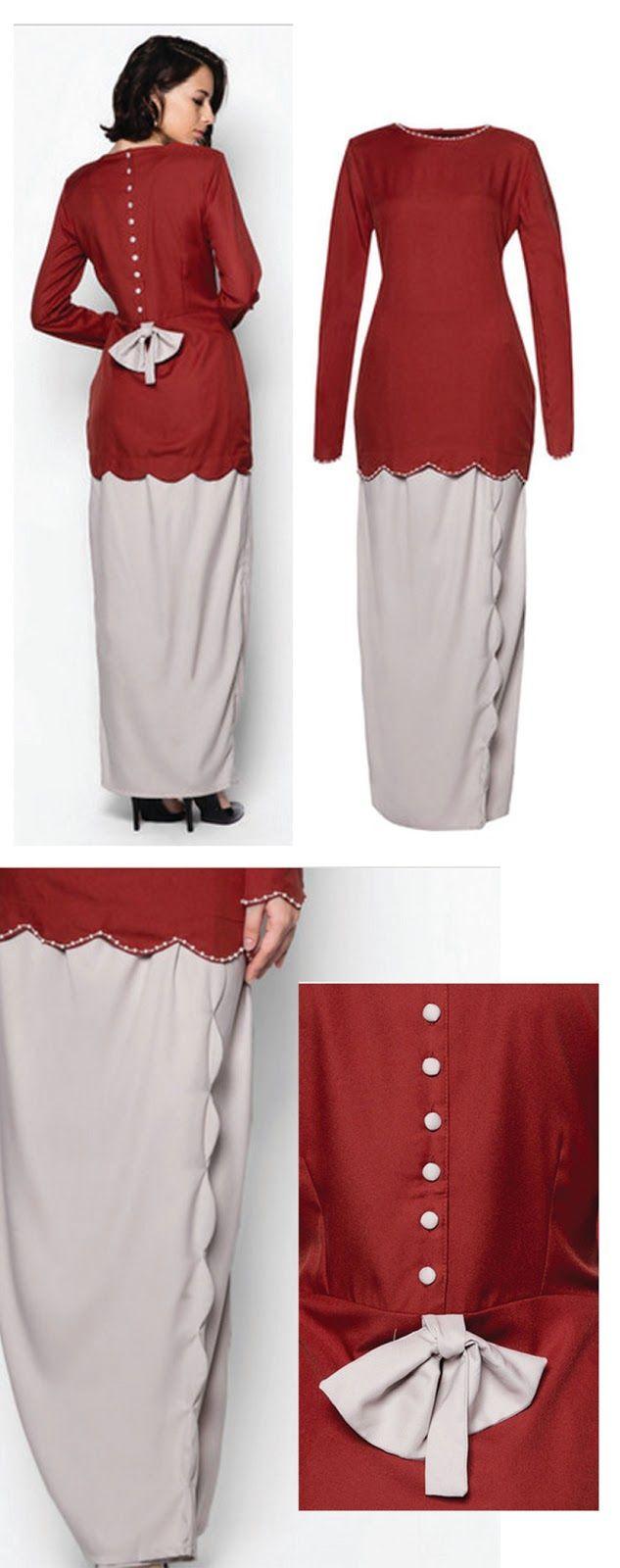 Kawasan Lynn Damya: Baju Kurung Moden 2015 ZALORA