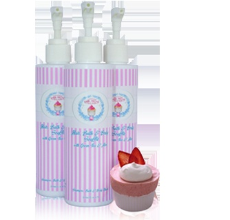 Hair, Bath & Body Souffle is a hair shampoo, bubble bath and face & body wash......all lathered in 1!