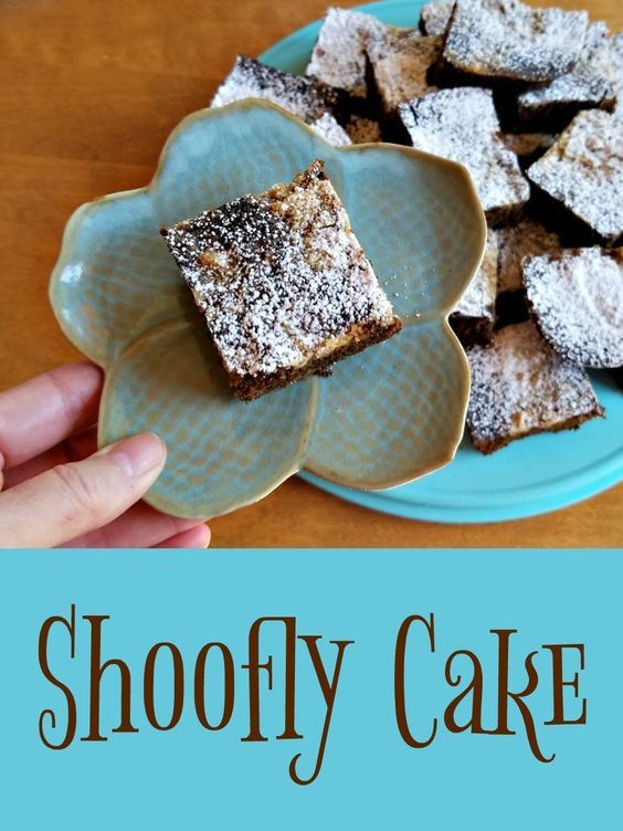 Shoofly Cake, The Essential Amish Cookbook, AD