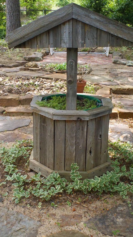 17 best images about outdoor wishing wells on pinterest. Black Bedroom Furniture Sets. Home Design Ideas
