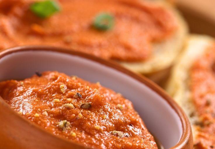 Pomazánka ze sušených rajčat (z ricotty)