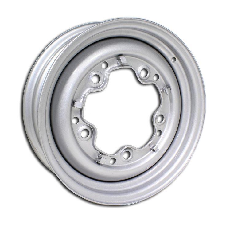 "5 Lug Rim Silver Smoothie 5/205 4.5"" Wide"