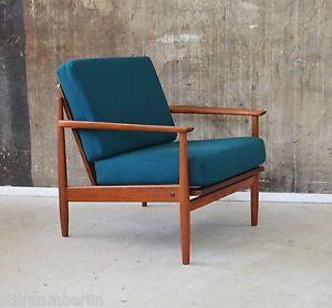 60er Teak Sessel Danish Design 60s Teakwood Easy Chair Vodder Wegner