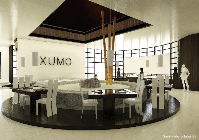 RESTAURANTE XUMO 3D