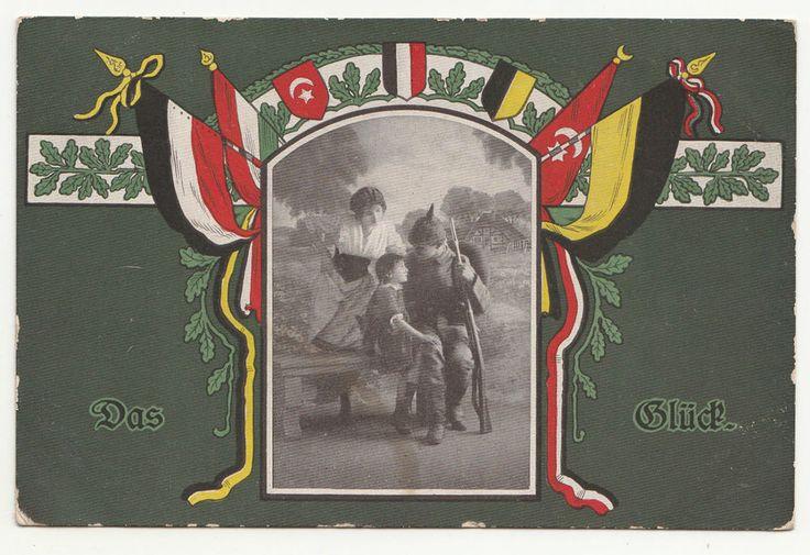 Patriotik Ak Das Glück Flaggen Türkei 1917 IWW ! (390 )