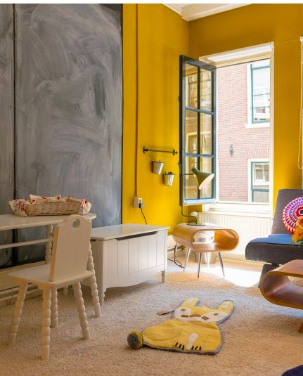 Are you brave enough to have yellow walls? ☛ Grab some real inspiration here!