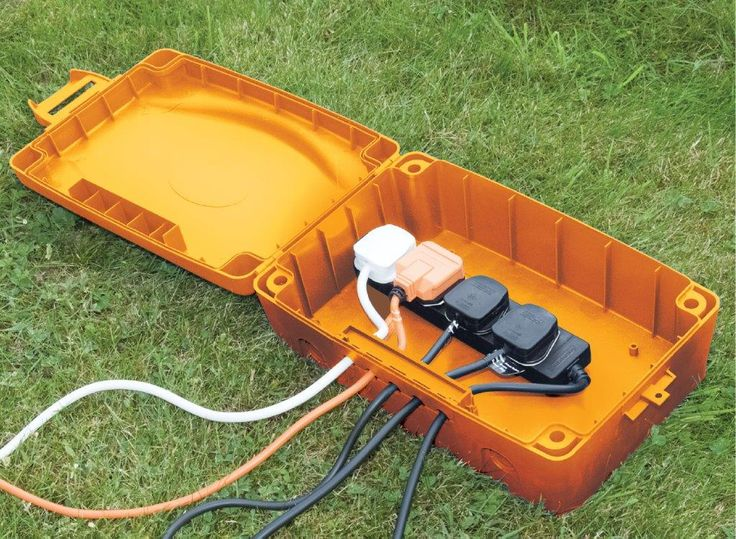 Masterplug IP54 Weatherproof Electric Box (Orange) - Beststuff.co.uk Ltd