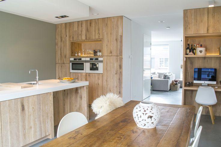 Zwevende Keuken Vaatwasser : Deze week deze prachtig ruime keuken opgeleverd. Deze keuken is